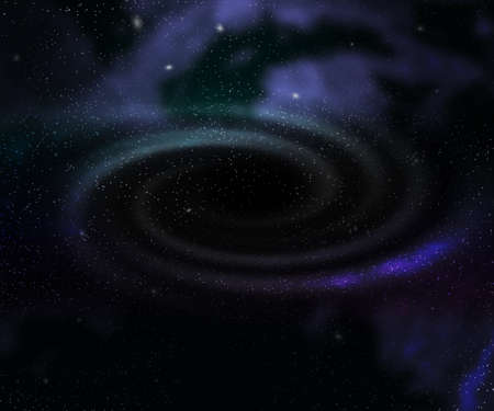 Black Hole Outer Space Backdrop Stock Photo - 21138516