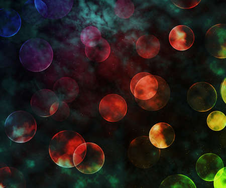 Bokeh Outer Space Backdrop Stock Photo - 21138520