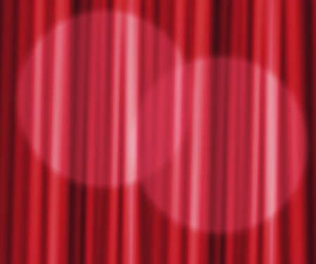 Red Curtain Photographic Backdrop photo