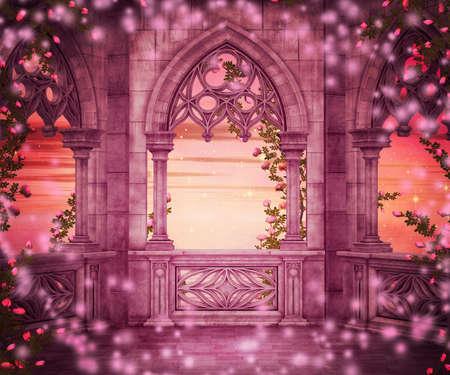 fantasy fairy: Princess Fantasy Backdrop