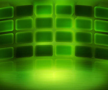 Green Media Wall Background photo