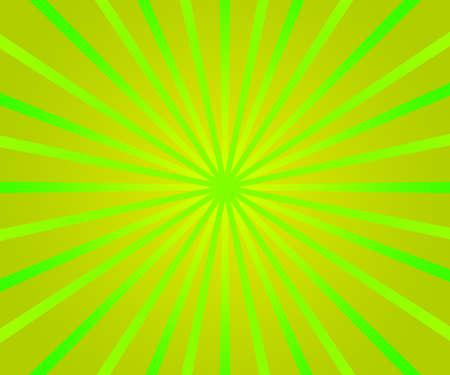 Green Retro Rays Background photo