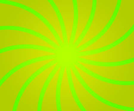 Green Retro Rays Backdrop photo