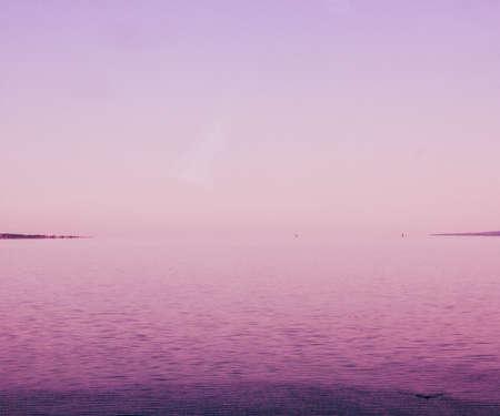 Pink Sea Backdrop photo