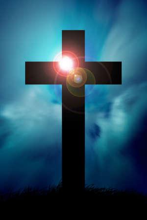 Christelijke Kruis Stockfoto