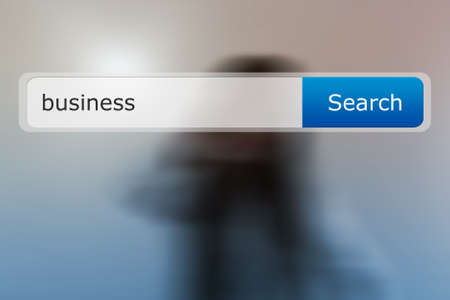 Business in Search Bar Image photo