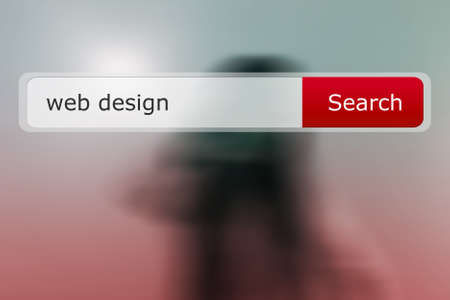 Web Design Search Bar Image photo