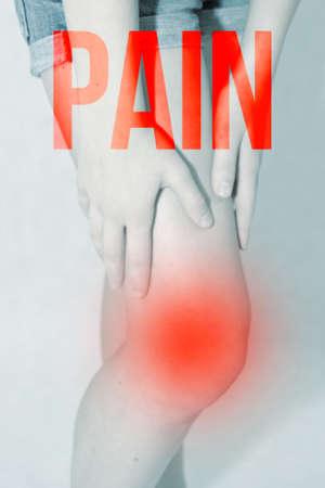 Pain in the Knee Reklamní fotografie