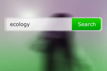 Ecology Search Bar Image photo