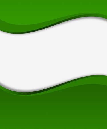Green Arc Shapes Background photo