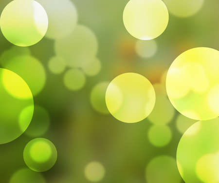 Green Nature Bokeh photo