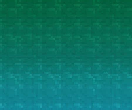 Teal Mosaic Texture Stock Photo - 24159829