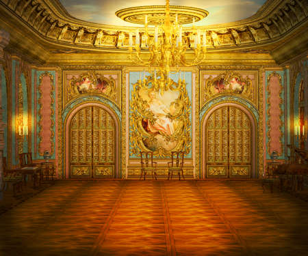 Gold Castle Room