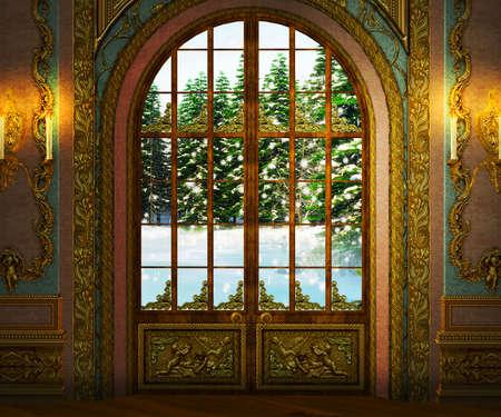 Château intérieur Banque d'images - 26218864