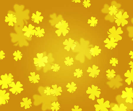 Gold Shamrock Backdrop photo