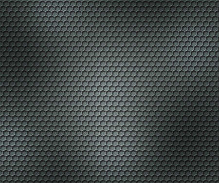 Hex Metal Background photo