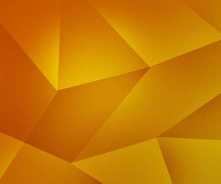 노란색 다각형 질감