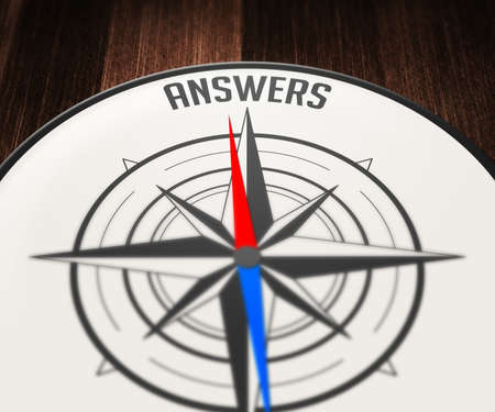 Answers Word Indicated by Compass photo