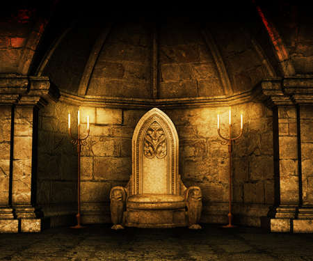 castello medievale: Oro Medieval Immagine