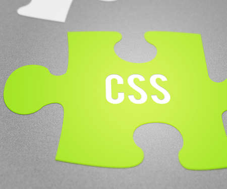 CSS Puzzle Stock Photo - 28964823