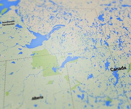 Canada Map photo