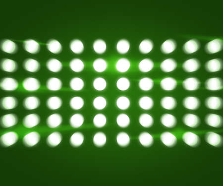 Party Lights Green Background photo