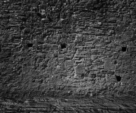 Medieval Stone Wall photo