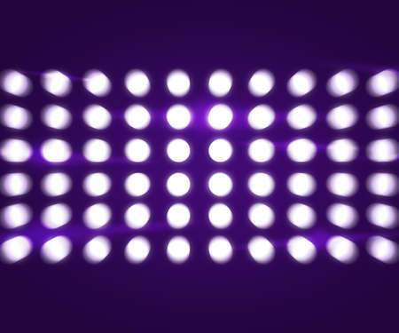 Party Lights Violet Background photo