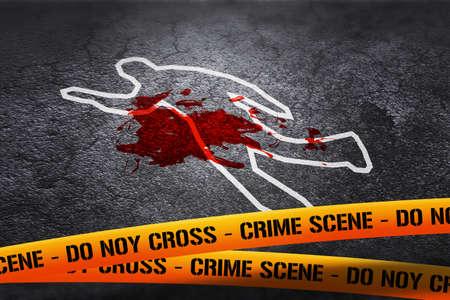 crime scene: Crime Scene Image