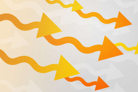 Yellow Arrows Abstract Background