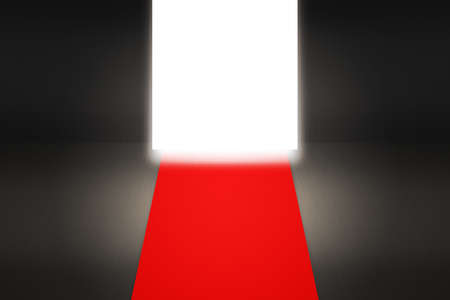 Red Carpet Enterence Backdrop