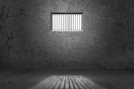 cellule prison: Cellule de fond
