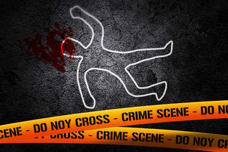 crime scene: Crime Scene Stock