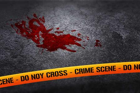 crime: Blood on Crime Scene