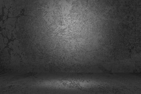 Gray Prison Cell Background