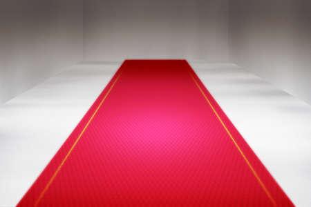 backdrop: Red Carpet Interior Backdrop Stock Photo