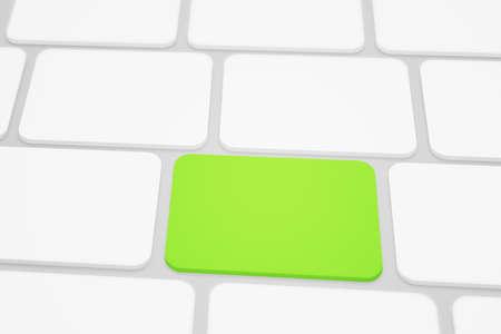 green button: Green Button Stock Photo