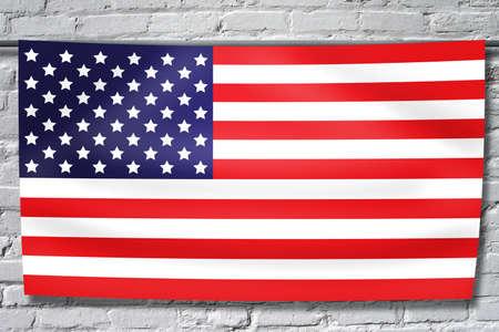 backdrop: American Flag Backdrop