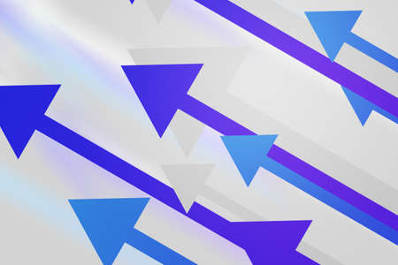 blue arrow: Violet Arrows Abstract Background