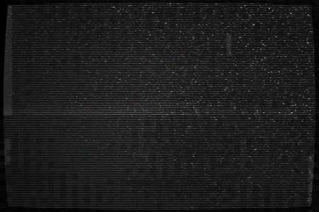 disconnected: Dark Video Glitch Texture