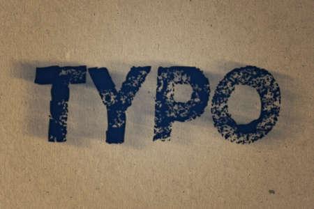 ink paper: Typo Ink Paper Texture Stock Photo