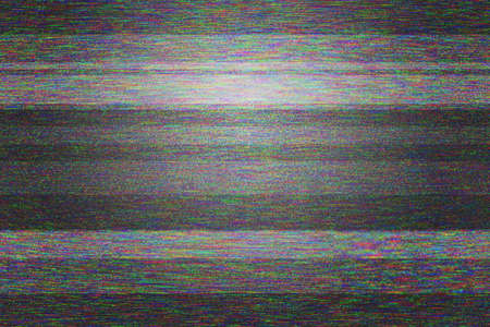 Textura en blanco de video Glitch