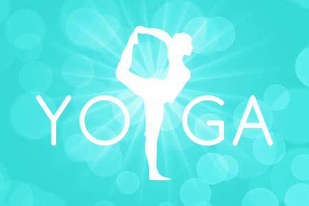 luz natural: Yoga Tiempo de fondo