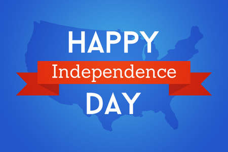 fourth of july: Happy July Fourth USA Stock Photo