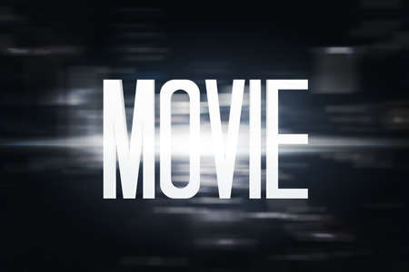 title: Movie Title Stock Photo