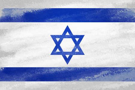 estrella de david: Antecedentes de la bandera de Israel
