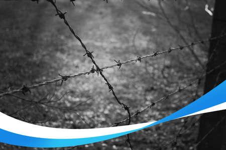 jewish: Holocaust Jewish Background Stock Photo