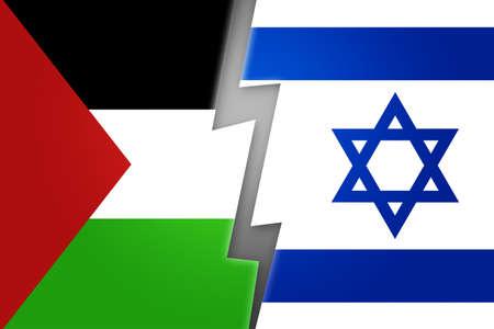 estrella de david: Palestina vs Israel Antecedentes
