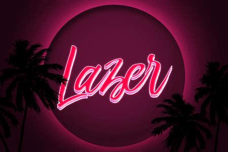 80s: Lazer 80s Retro Background