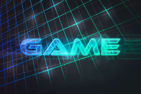 80s: Game 80s Retro Background